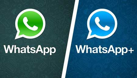 WhatsApp VS WhatsApp Plus - Nandur93