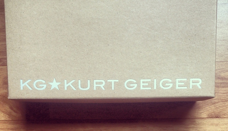 boite de chaussures Kurt Geiger