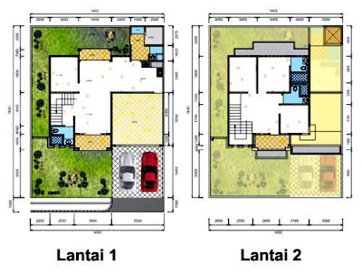 Figure 2 Floor Plan Houses Minimalist