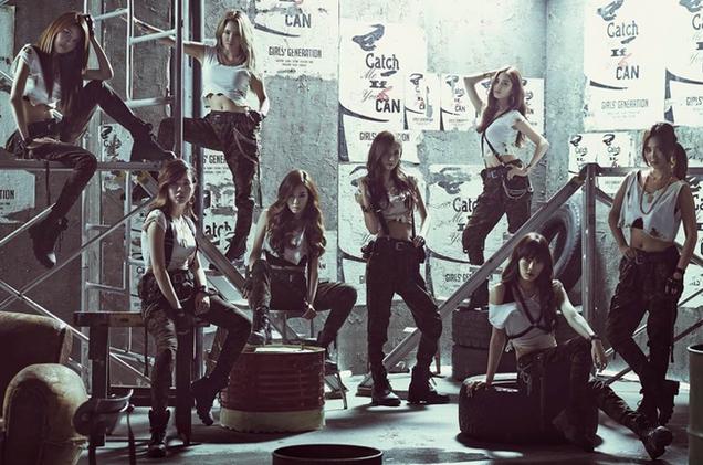 snsd ikon musik k-pop