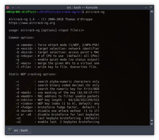 Aircrack-ng 1.4 - Complete Suite Of Tools To Assess WiFi Network Security