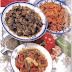 طبخ المغربي الباذنجان بالطماطم والفلفل