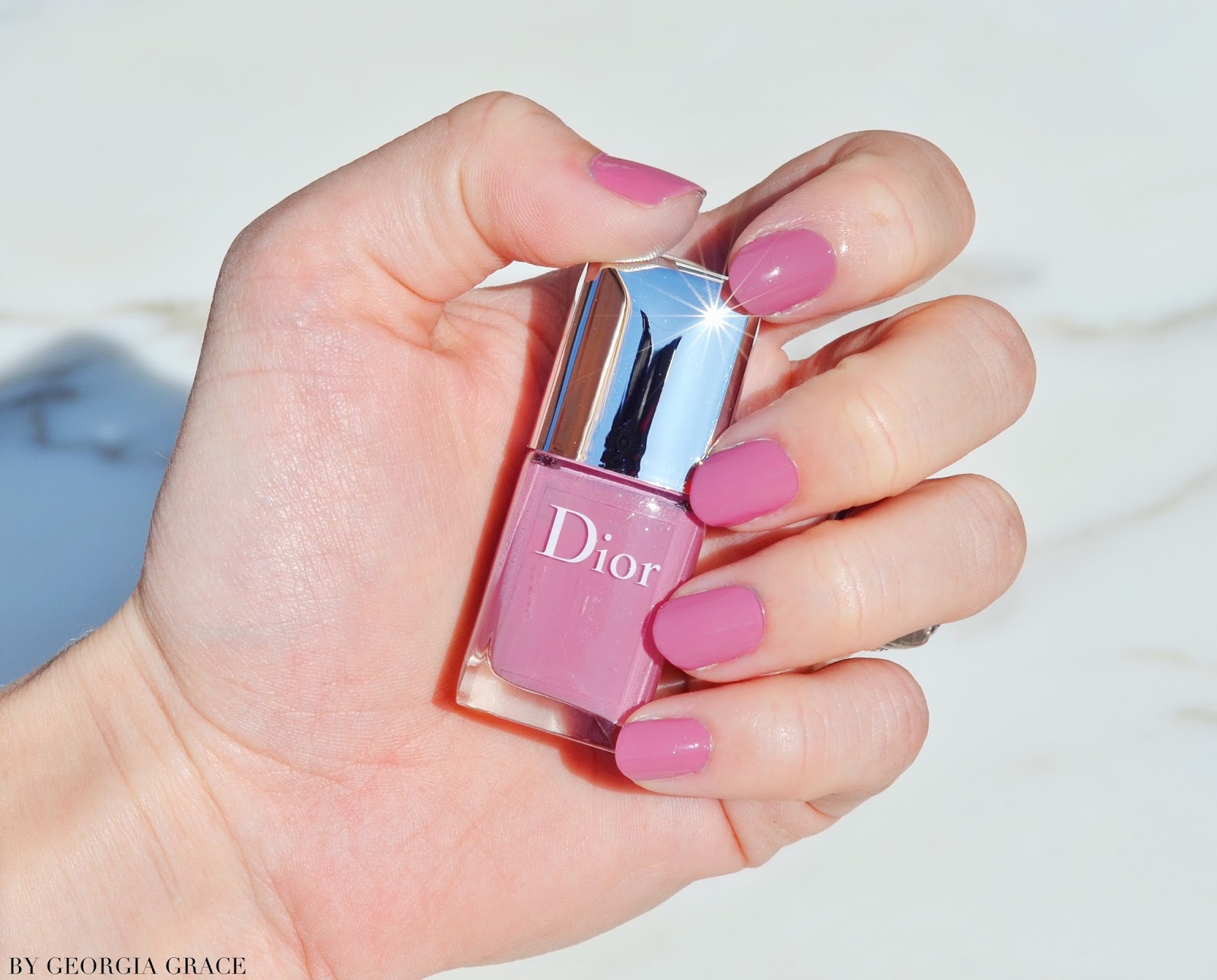 look so lush that I immediately fell in love. It immediately reminded  me of one of my favourite OPI colours \u0027Japanese Rose Garden\u0027 but with more  purple.