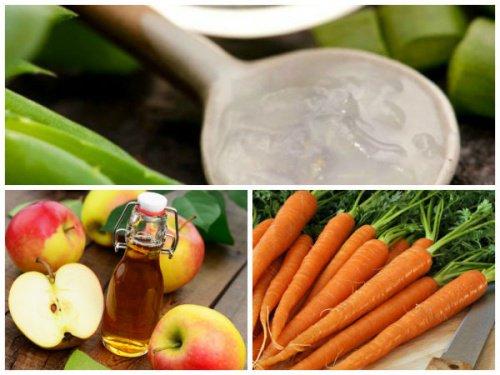 Comment préparer ce traitement à l'aloe vera, à la carotte et au vinaigre de cidre