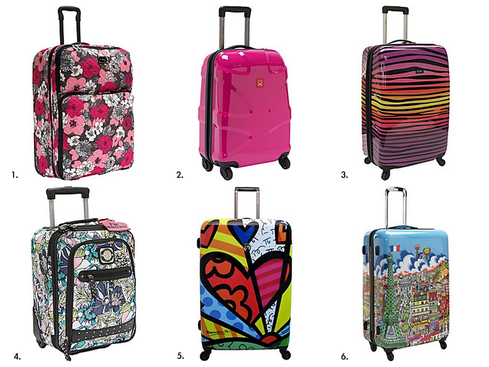 Fashion Designer Suitcases