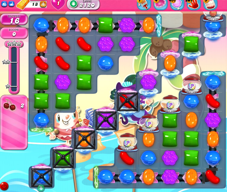 Candy Crush Saga level level 2120