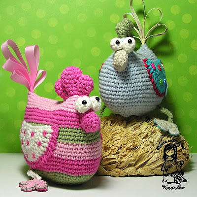 crochet hen pattern
