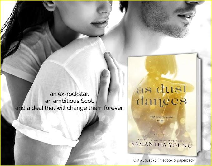 """Fragment najnowszej powieści Samanthy Young """"As Dust Dances"""""""