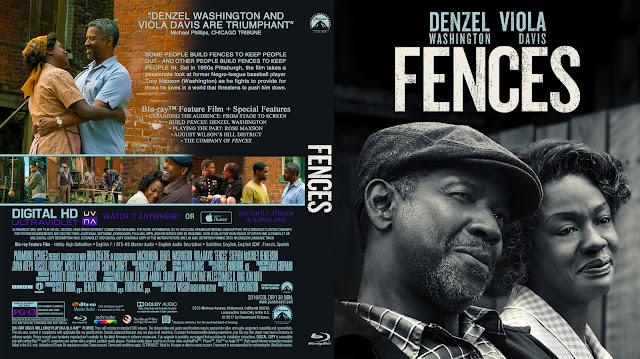 Fences Bluray Cover
