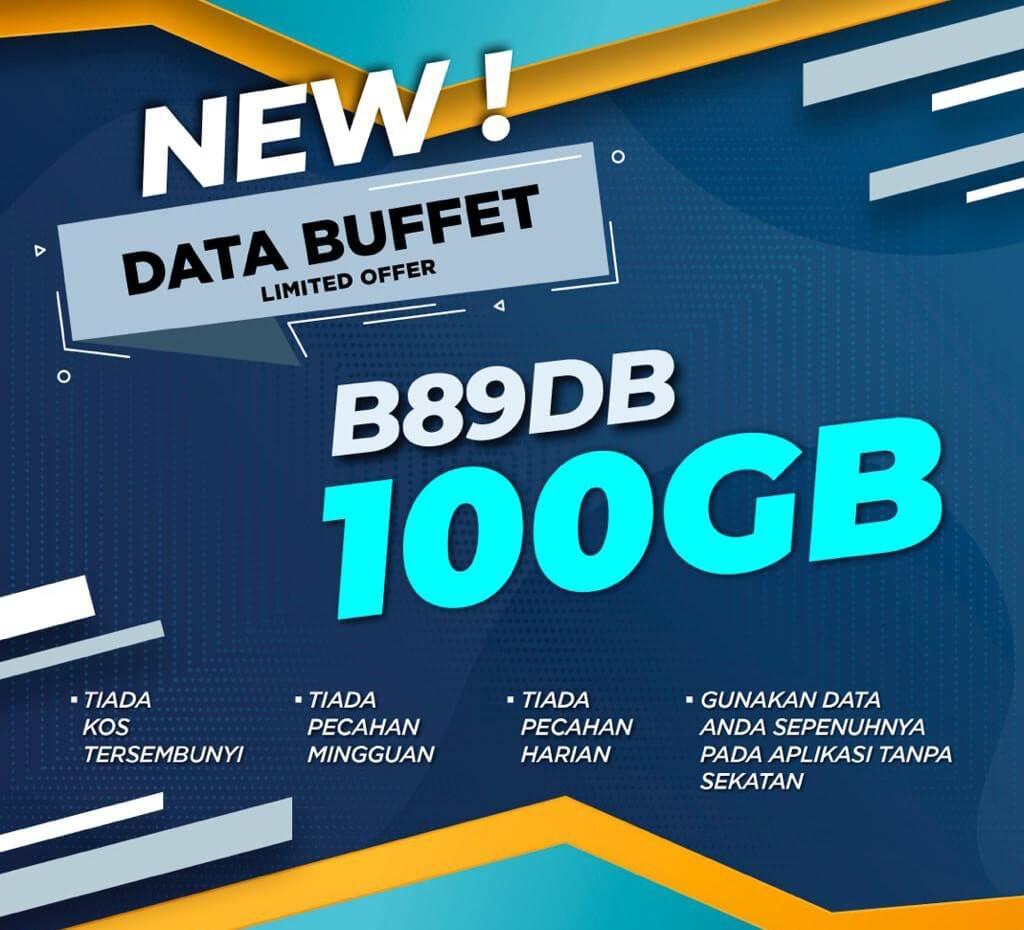 ONEXOX Black B89DB Data Buffet