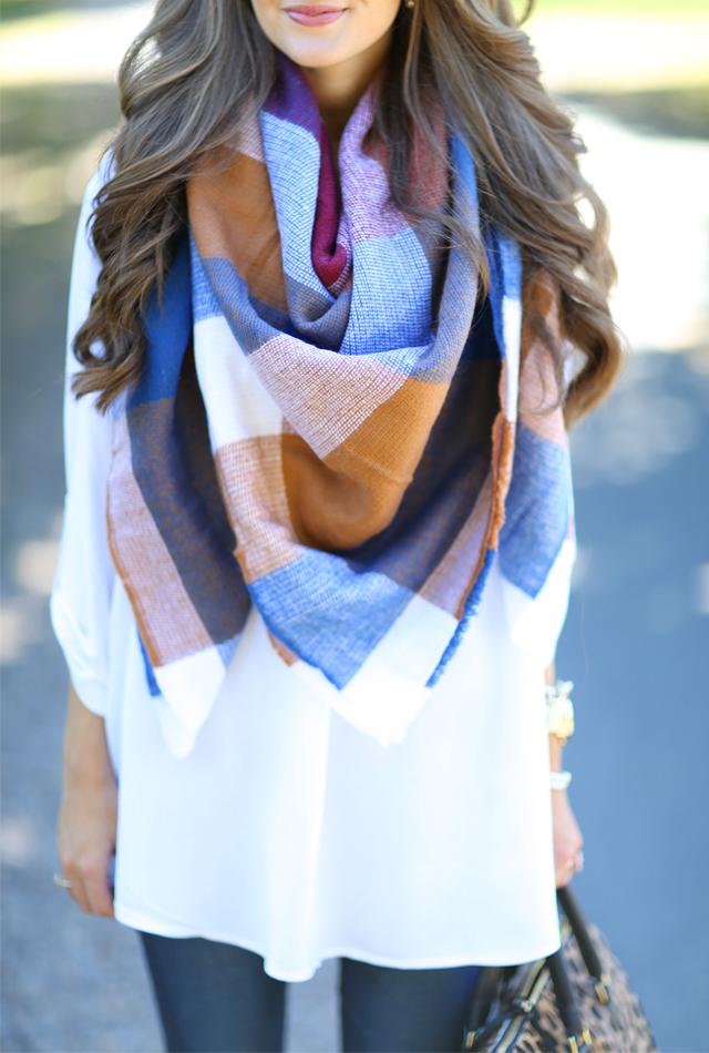 ASOS blanket scarf