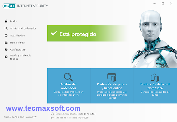 descargar ESET Internet Security 11 keys _ captura 2