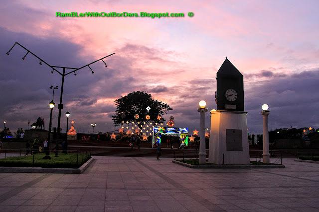 Memorial Clock, Rizal Park, Manila, Philippines