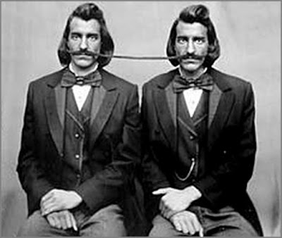 Vintage twins photo