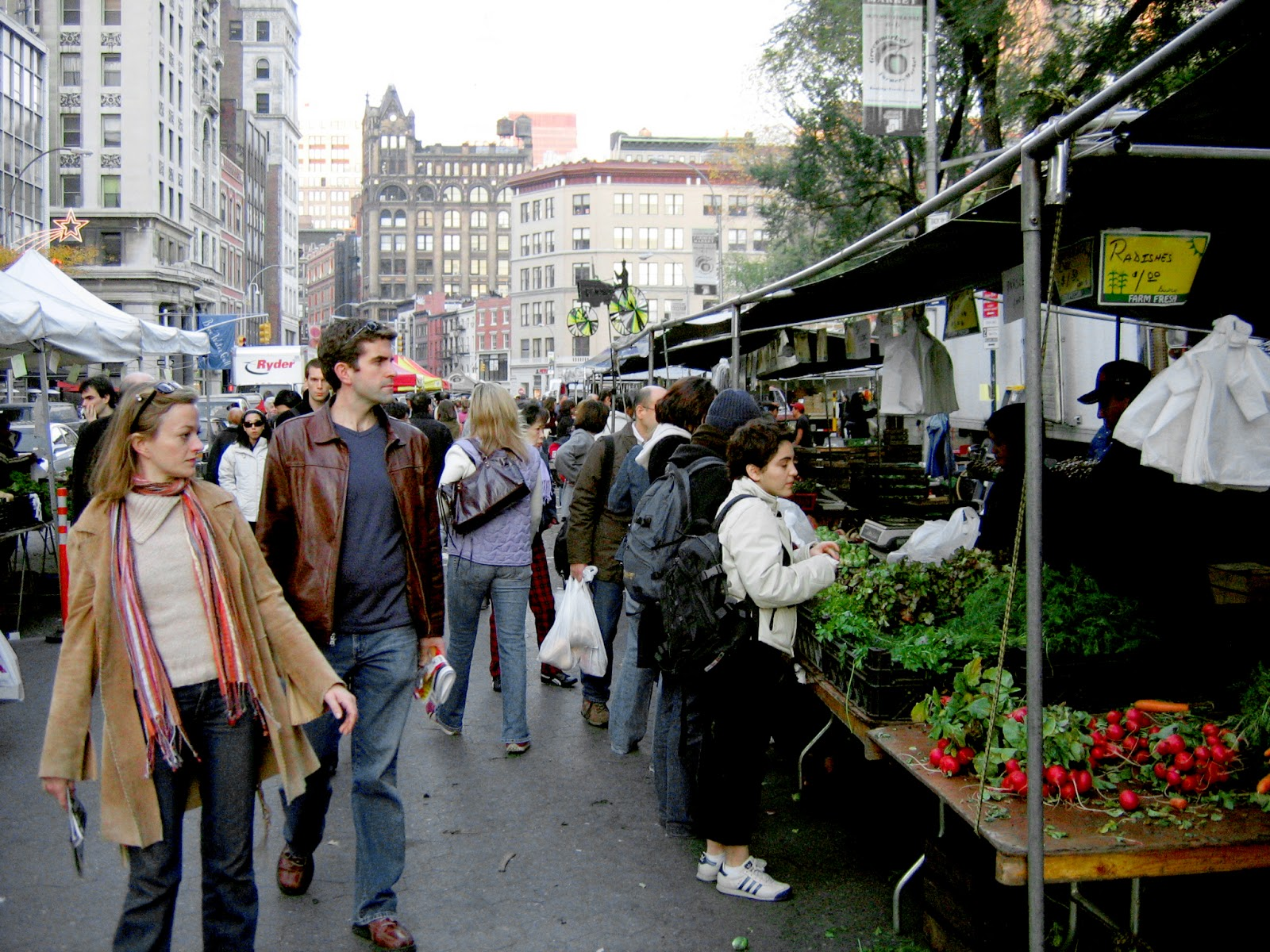 Outdoor Food Markets In Nyc