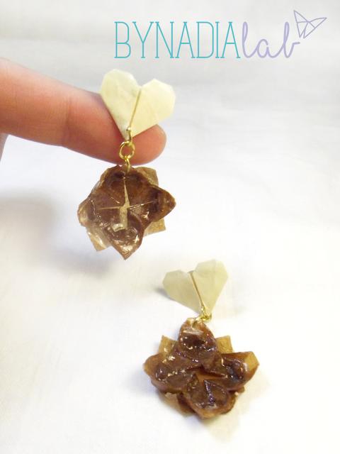 orecchini fiore di loto bynadialab