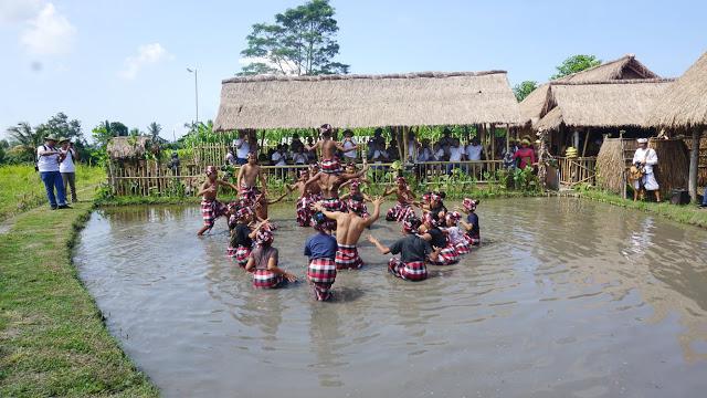 Bupati Siwita Terima Rombongan Touring Desa Wisata Asita Bali