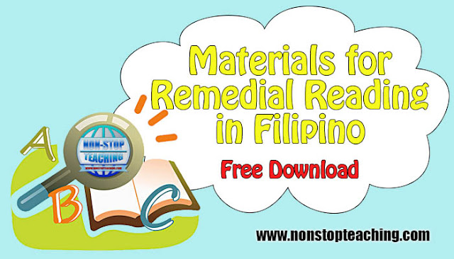 Materials for Remedial Reading in Filipino