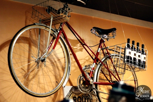 Vintage Bike Restaurant Deisgn at Beeffalo by Hotrocks