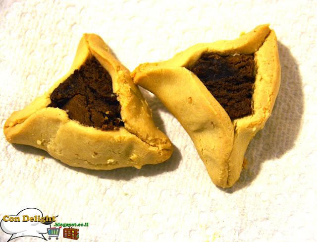 no butter hamantachen אוזני המן ללא חמאה