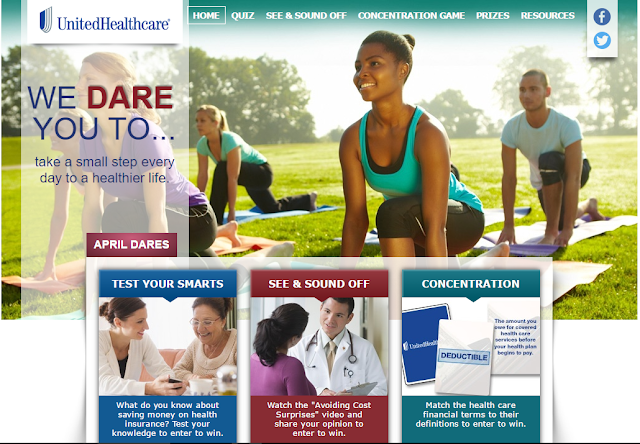 UnitedHeathcare Dares You To... See what @myUHC aims to do for you!