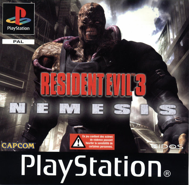 Resident Evil 3: Nemesis - PSX - Portada