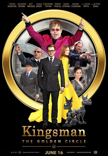 Kingsman: The Golden Circle (2017) ταινιες online seires xrysoi greek subs