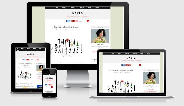 Karla Responsive Blogger Template BTDesigner