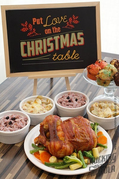 Mucking Around Manila Kenny Rogers Roasters Bacon Wrapped Christmas Feast