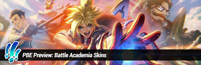 Surrender at 20: PBE Preview: Battle Academia Skins