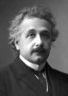 Albert Einstein: the German physicist held Levi-Civita in high regard
