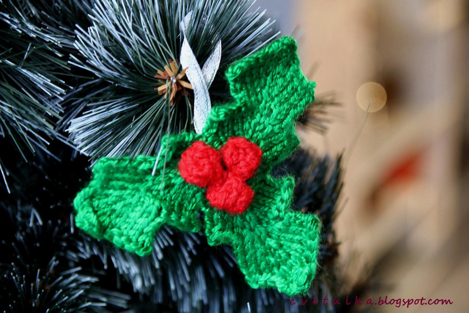 Christmas Decoration (part II)   c v e t u l k a knits