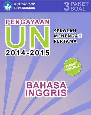 Gratis ebook untuk latihan Ujian Nasional SMP/ MTS 2014 s/d 2015 1