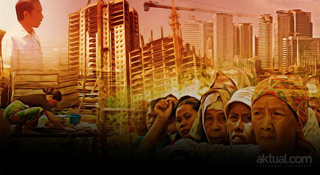 Lebih Parah Dari Orba, Kebijakan Ekonomi di Bawah Jokowi Semakin Memperlebar Ketimpangan