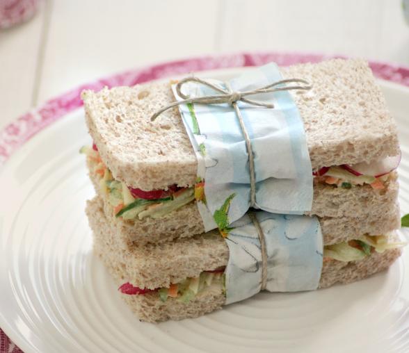 Sandwich Vegetal Receta Whole Kitchen