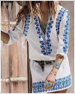 Elişi Elbise Modelleri - Moda Tasarım 7