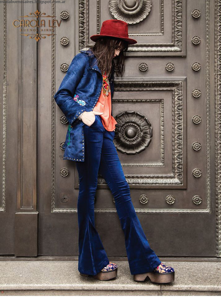 Pantalones oxford invierno 2016 Carola Lev.