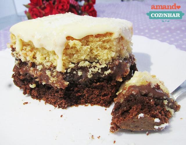 bolo gelado dois amores
