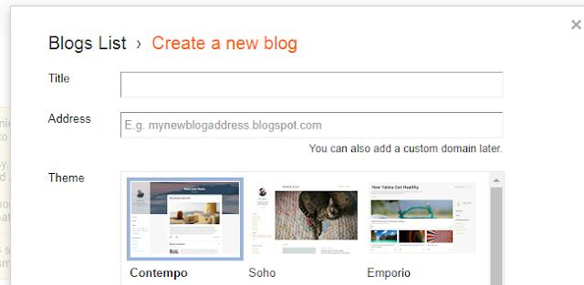 Select theme image