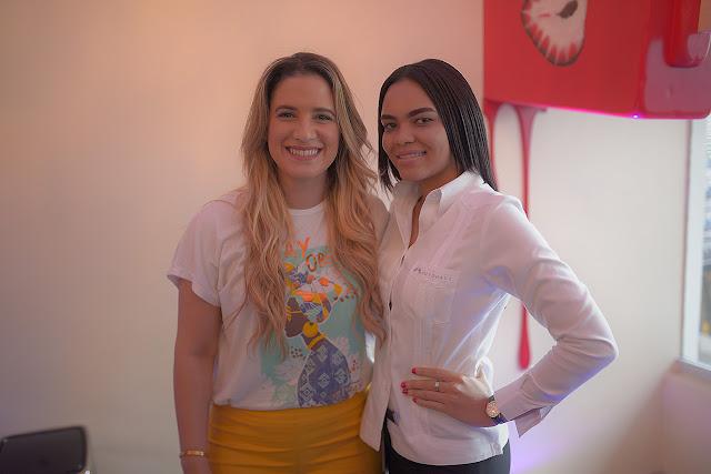 Nathalie Hazim y Paola García