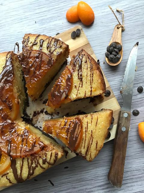 bizcocho de fanta naranja y chocolate en crockpot receta