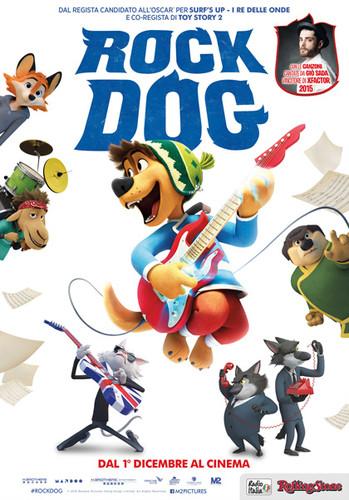 Rock Dog: El Perro Rockero (2016) [BDrip Latino] [Animación]