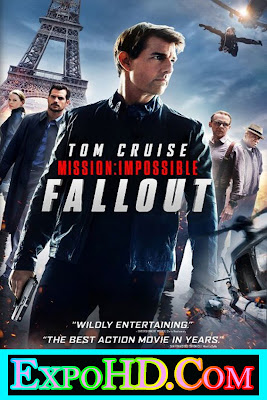 Mission Impossible Fallout 2018 _ Dual Audio 480p || IMDB || BluRay 720p || Esub 400MB _ Watch Online