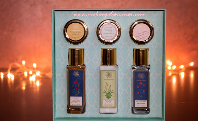 Forest Essentials Gift boxes and Haul, Cruelty-Free Skincare products in India