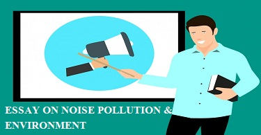 NOISE POLLUTION AND ENVIRONMENT