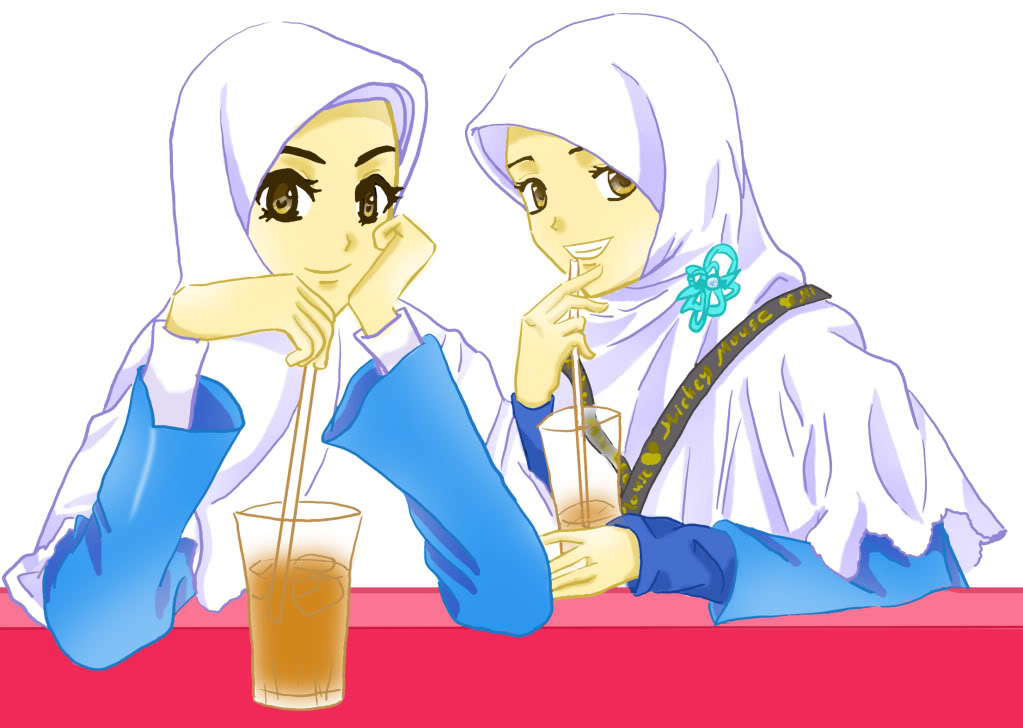 Gambar Kartun Berhijab Cantik: ShoLiha 45-MR'imsu: Koleksi Kartun Hijab Cantik