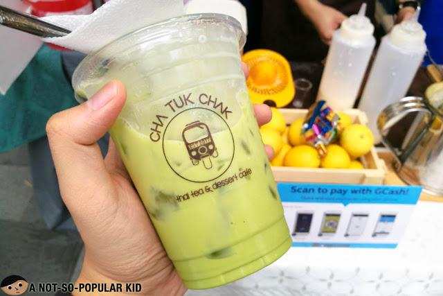 Cha Khiao of Cha Tuk Chak Thai Tea