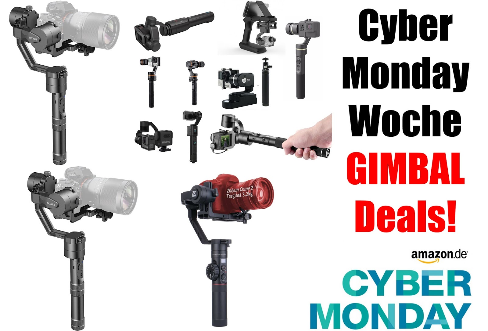 Black Friday Woche Cyber Monday Week Black Friday Gimbal Angebote Gimbal Guru