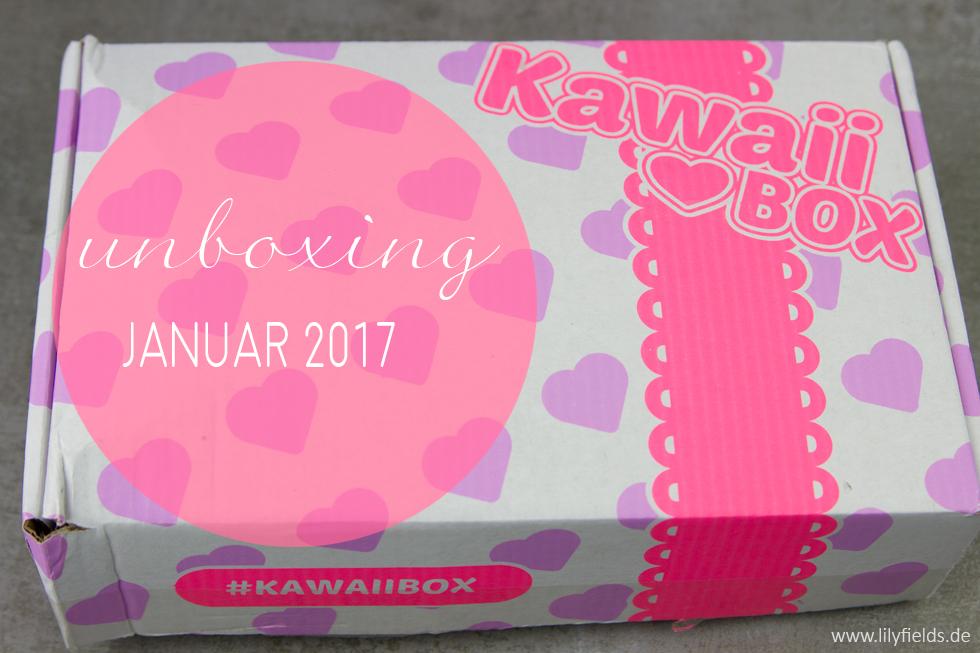 Kawaii Box - unboxing + Gewinnspiel