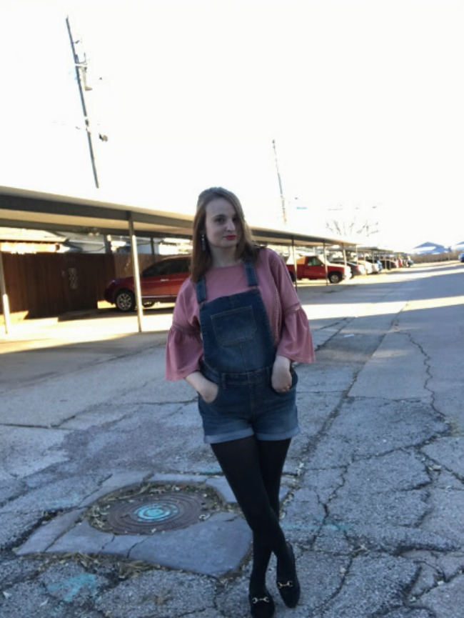 Overalls & Tights   Winter Layering